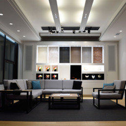 Residential & Commercial Electrical Contractors - Lighting design for a studio showroom
