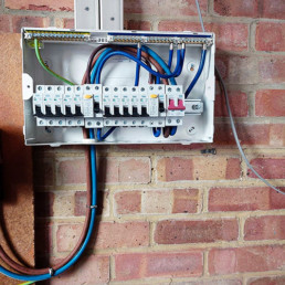 Residential & Commercial Electrical Contractors - Electrical cable management system
